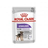 Hrana umeda pentru caini, Royal Canin, Sterilized Pouch, 85g