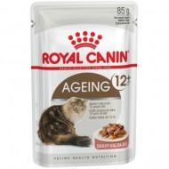 Hrana umeda pentru pisici, Royal Canin, Ageing +12, 85 g