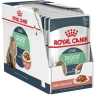 Hrana umeda pentru pisici, Royal Canin, Digest Sensitive, 12 x 85 g