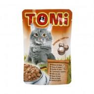 Hrana umeda pentru pisici, Tomi, Gasca si Ficat, plic 100 g