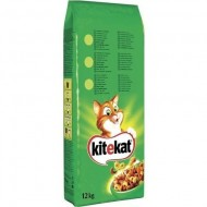 Hrana uscata pentru pisici, Kitekat, Vita & Legume, 12Kg