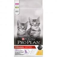 Hrana uscata pentru pisici, Pro Plan, Original Kitten Pui, 10kg