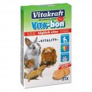 Minerale pentru rozatoare, Vitakraft, Vita-Bon Rozatoare, x 31 Tablete