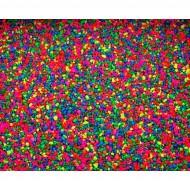 Nisip multicolor pentru acvariu, Calciomare 2,5 Kg