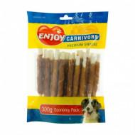 Recompense pentru caini, Enjoy Carnivore Sticks cu pui 300 g