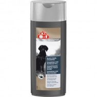 Sampon pentru caine, 8in1 Black Pearl, 250 ml