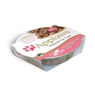 Hrana umeda pentru pisici, Applaws, File Ton si Crabi, 60 g