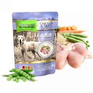 Hrana umeda pentru caini, Natures Menu, Pui si Rata, 300 g