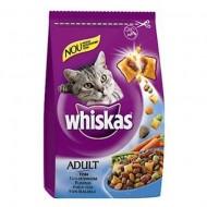 Hrana uscata pentru pisici, Whiskas, Ton si Ficat, 14Kg