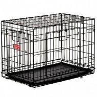 Cusca metalica pentru caini, Midwesthome, Contour 836DD, 92 CM