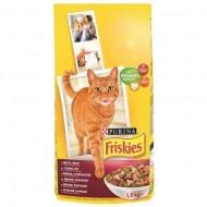 Hrana uscata pentru pisici, Friskies, Adult Carne, Pui si Legume, 10 Kg