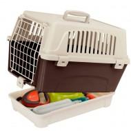 Cusca de transport pentru pisici, Ferplast, Atlas 10 Organizer, 33.25 x 47.6 x 33.6 CM