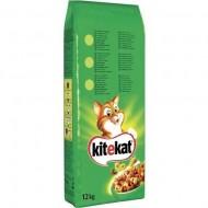 Hrana uscata pentru pisici, Kitekat, Pui & Legume, 12Kg