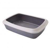 Litiera pentru pisici, Pet Expert, Cleany Plus Grey, 50 cm