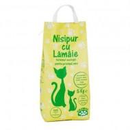 Nisip pentru pisici, Nisipur, Lamaie, 5 kg
