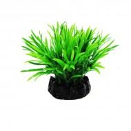 Plante plastic acvariu, Resun, Sea Grass Dark Green, 10 CM