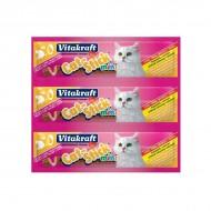 Recompensa pentru pisici, Vitakraft, Mini, Curcan, Miel, x 3 BUC