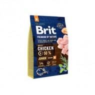 Hrana uscata pentru caini, Brit Premium by Nature, Junior M, 15 Kg