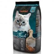 Hrana uscata pentru pisici, Leonardo, Adult Sensitive Peste, 2 Kg