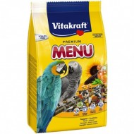 Hrana pentru pasari, Vitakraft, Meniu Papagali, 1Kg