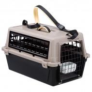 Cusca transport pentru caini, Ferplast, Atlas Trendy Plus 20, Neagra