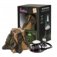 Decor pentru acvariu, Hydor, H2SHOW Kit Wood - Green Light