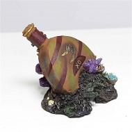 Decor pentru acvariu, Resun, Sticla Parfum, BW 02