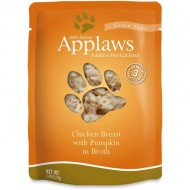 Hrana umeda pentru pisici, Applaws, Piept de Pui cu Dovlecel, 12x70 g