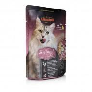 Hrana umeda pentru pisici, Leonardo, Pasare si Ou, 85 G