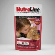 Hrana umeda pentru pisici, Nutraline, Classic Vita, 24 x 100 g