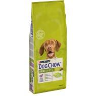 Hrana uscata pentru caini, Dog Chow, Adult Miel si Orez, 14 Kg