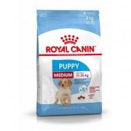 Hrana uscata pentru caini, Royal Canin, Medium Puppy, 15 Kg+3 Kg Gratis
