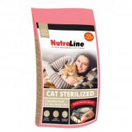 Hrana uscata pentru pisici, Nutraline, Cat Sterilized, 10 Kg