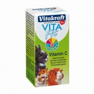 Minerale pentru rozatoare, Vitakraft, Vitamina C, 10 ML