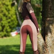 Pantaloni echitatie dama, Ekkia, Pro Fun Line Burgundy 40 979321040