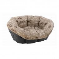 Pernita pentru pisici, Ferplast, Sofa 2, Red/Blue