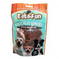 Recompense pentru caini, Eat&Fun, Duck 4 Bribe, 100 G