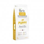 Hrana uscata pentru caini, Brit Care, Puppy Lamb and Rice, 12 kg