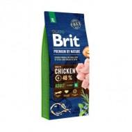 Hrana uscata pentru caini, Brit Premium by Nature, Adult XL, 15 KG