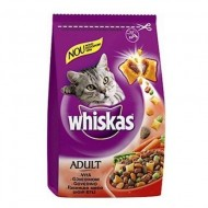 Hrana uscata pentru pisici, Whiskas, Vita si Ficat, 14Kg