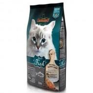 Hrana uscata pentru pisici, Leonardo, Adult Sensitive Peste, 15 Kg