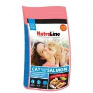 Hrana uscata pentru pisici, Nutraline, Cat Grain Free Sommon, 10 Kg