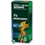 Fertilizator plante acvariu, JBL, ProScape Fe +Microelements, 250 ml