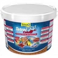 Hrana pentru pesti, Tetra, Pro Color Crisps, 10 L