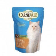 Hrana umeda pentru pisici, Carnevale, Cat Somon, Ulei de Masline, Marar, Plic 85 G