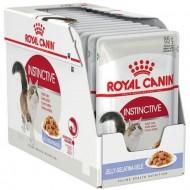 Hrana umeda pentru pisici, Royal Canin, Instinctive In Jelly, 12 x 85 g
