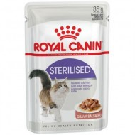 Hrana umeda pentru pisici, Royal Canin, Sterlised, 85g