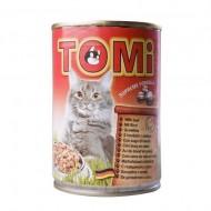 Hrana umeda pentru pisici, Tomi, Vita, conserva 400 g