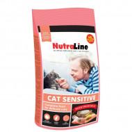 Hrana uscata pentru pisici, Nutraline, Cat Sensitive, 10 Kg