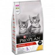 Hrana uscata pentru pisici, Purina Pro Plan, Original Kitten Pui, 1,5 kg
